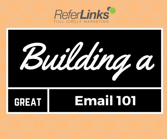 building a great email