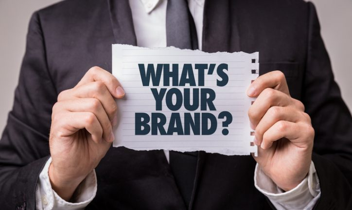 Whats Your Brand? paper sign