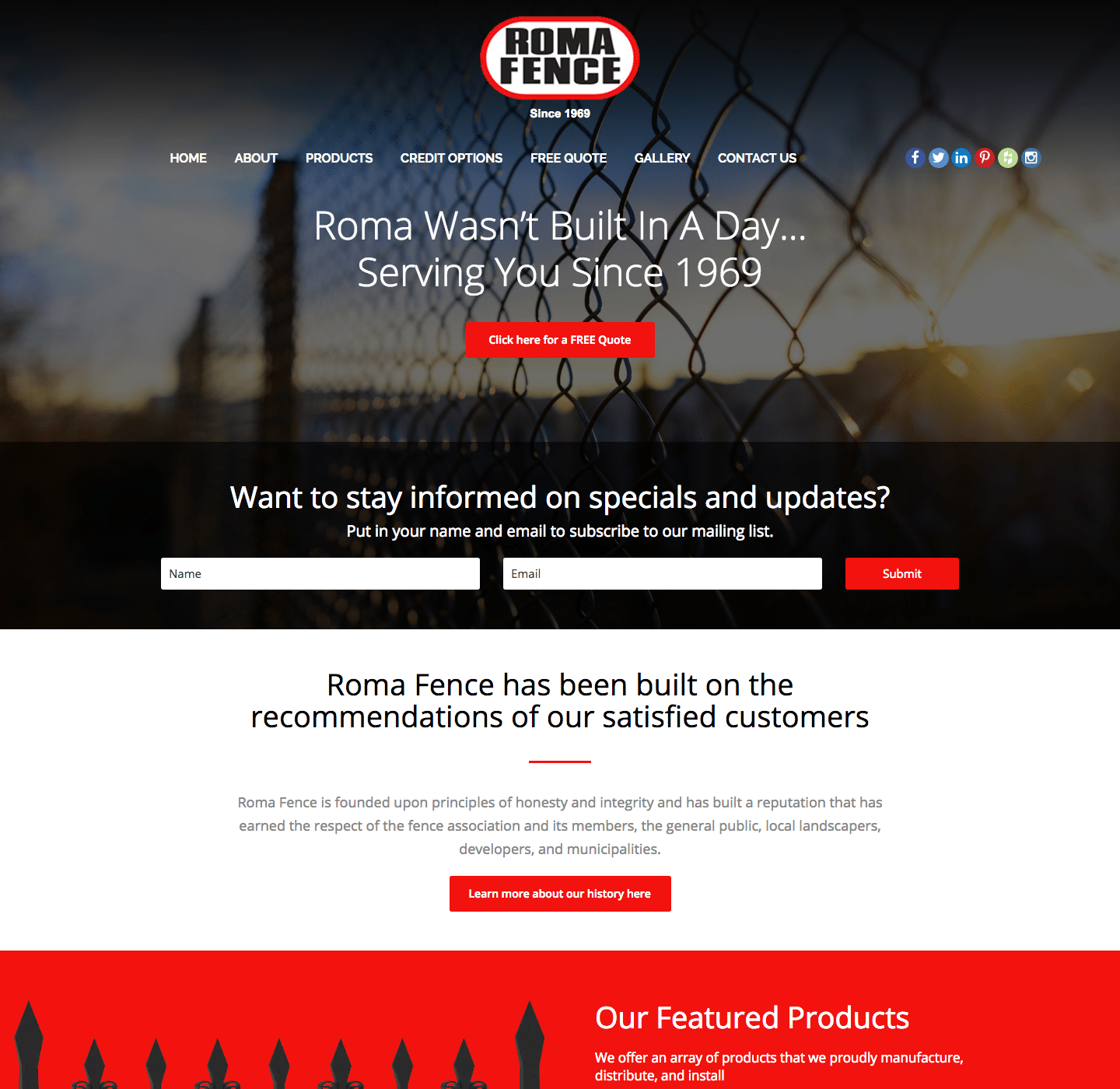Roma Fence Group