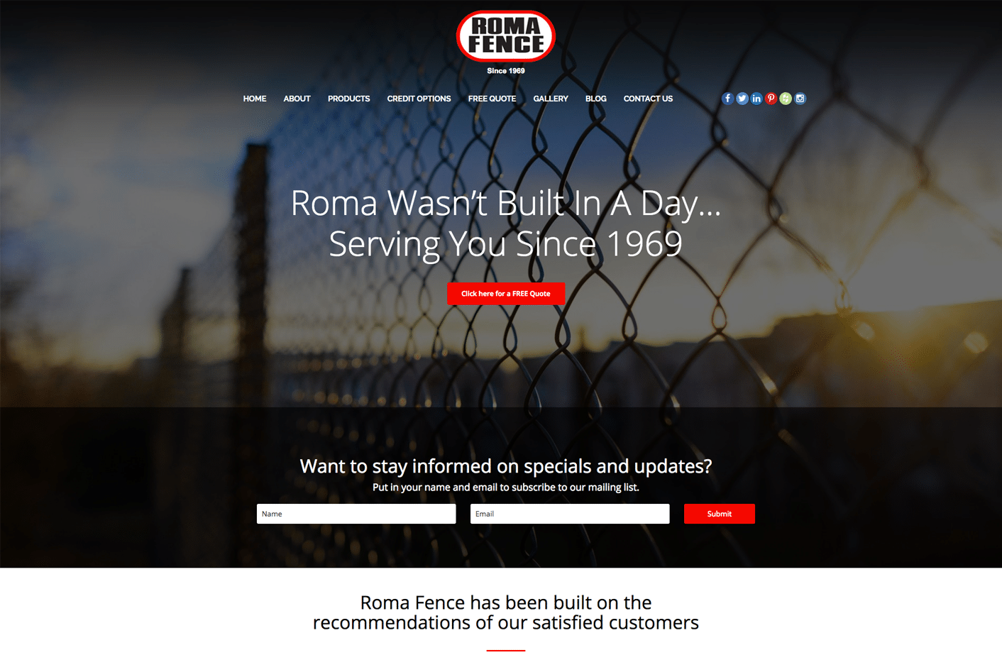 romafence